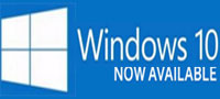 Windows 10 available