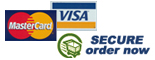 We accept PayPal, MasterCard and Visa Cards..